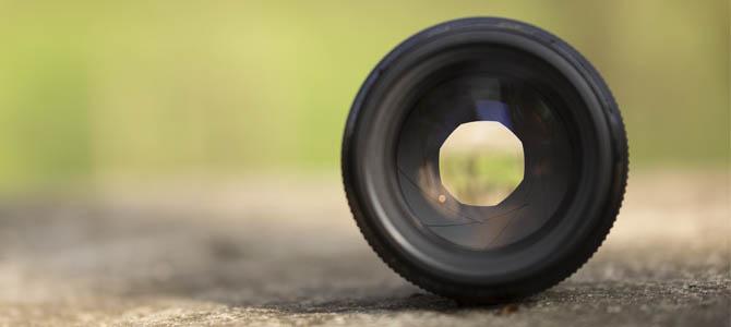 Canon EF 85mm f/1.8 Blendenlamellen
