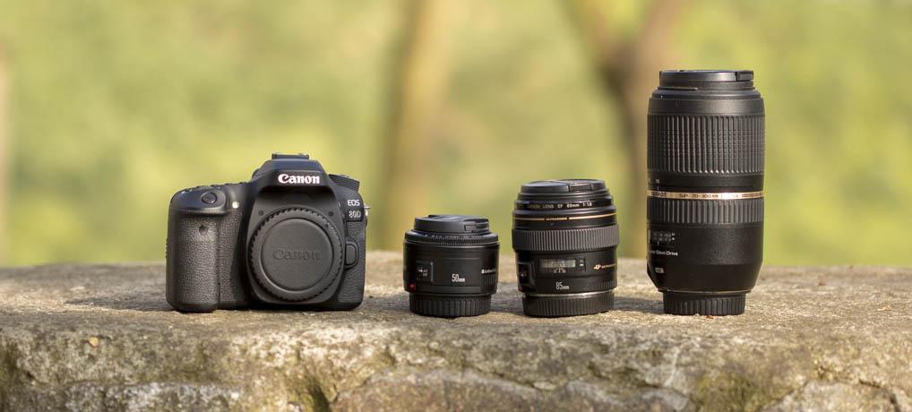 Günstiges Bokeh, Kamera und Objektive für den Einstieg